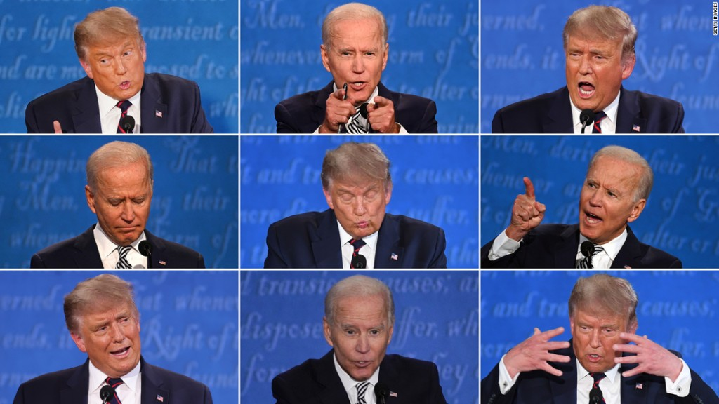 Trump-Biden clash was watched by at least 73 million viewers