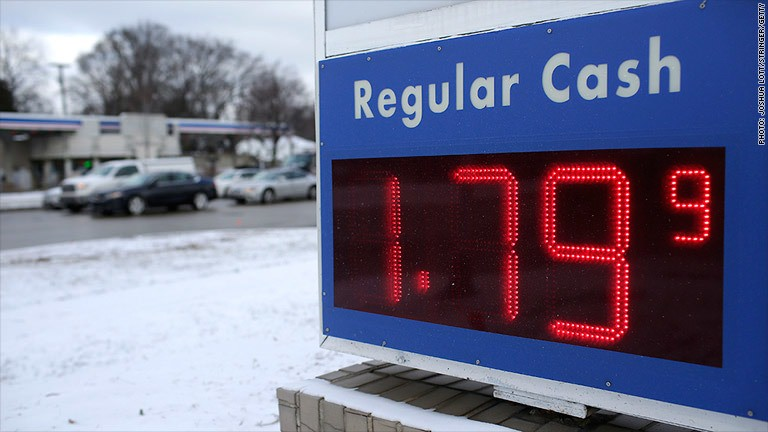 Gas is less than $2 at most U.S. stations