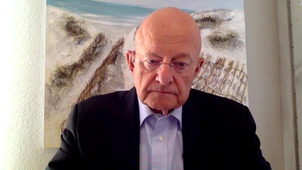 Hear James Clapper's warning about America