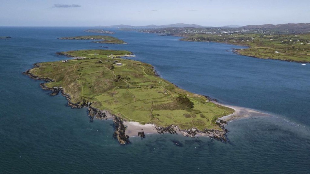 A private island off the coast of Ireland just sold for $6 million. The buyer only saw it in a video tour