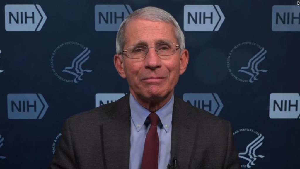US could be in for 'a bad fall and a bad winter' if it's unprepared for a second wave of coronavirus, Fauci warns