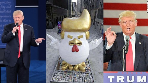 Donald Trump rooster statue takes China by storm