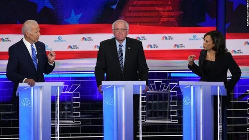 Kamala Harris shines in commanding Democratic debate performance