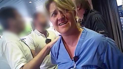 Officer involved in Utah nurse arrest fired from paramedic job