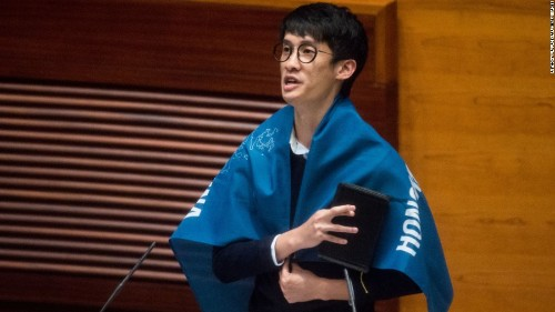 Hong Kong: Lawmakers who insulted China blocked from taking oaths