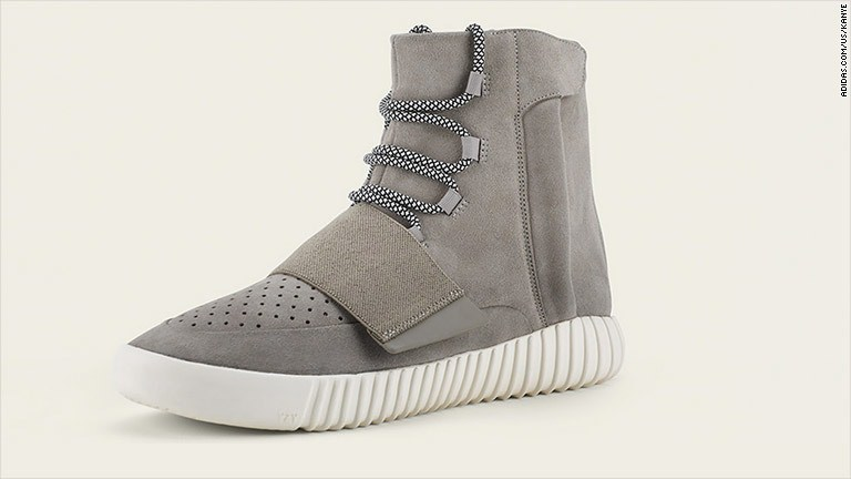 Kanye's Yeezy sneakers sell out