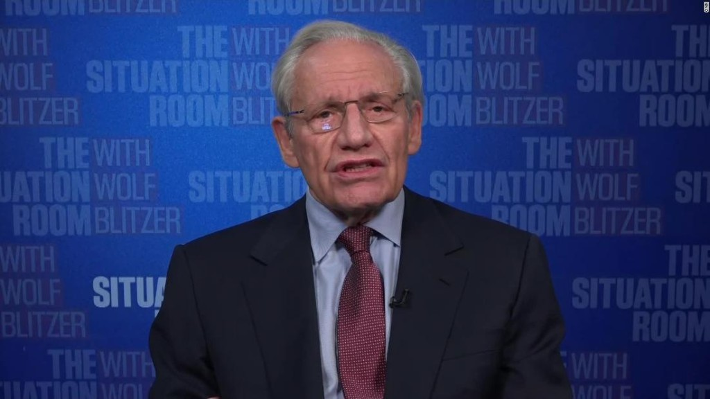 Bob Woodward: We now have a constitutional problem