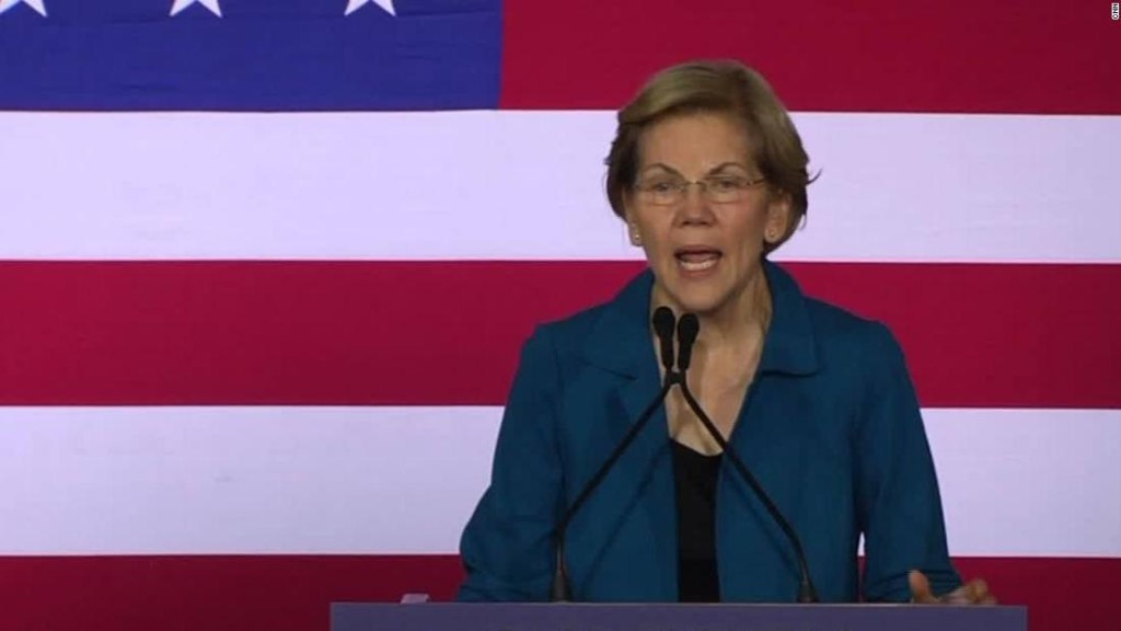 Warren gives Klobuchar a shoutout after New Hampshire primary