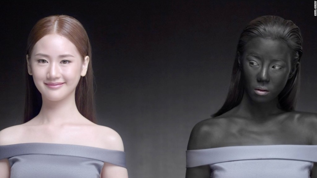 Thai beauty ad: 'Just being white, you will win'