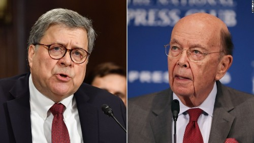 House Oversight votes to hold Barr, Ross in contempt over census dispute