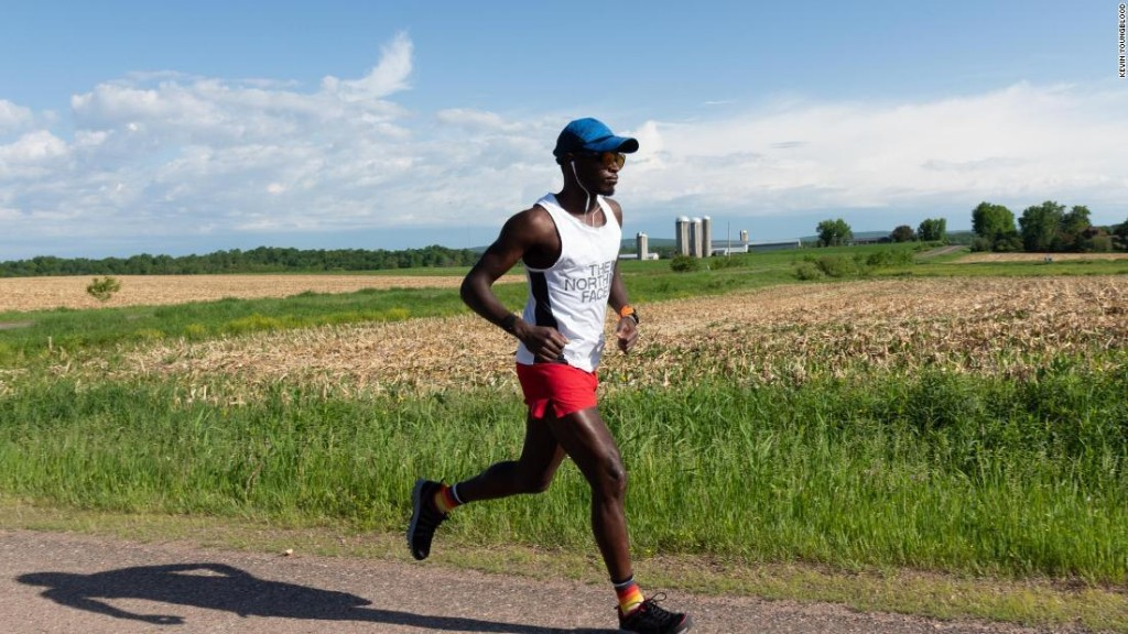 Ultrarunner Coree Woltering runs almost 1,200 miles in record time