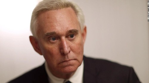 Mueller indicts Roger Stone, says he was coordinating with Trump officials about WikiLeaks' stolen emails