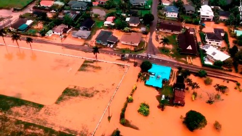 Hawaii rescue boat operator accused of demanding money from flood victims