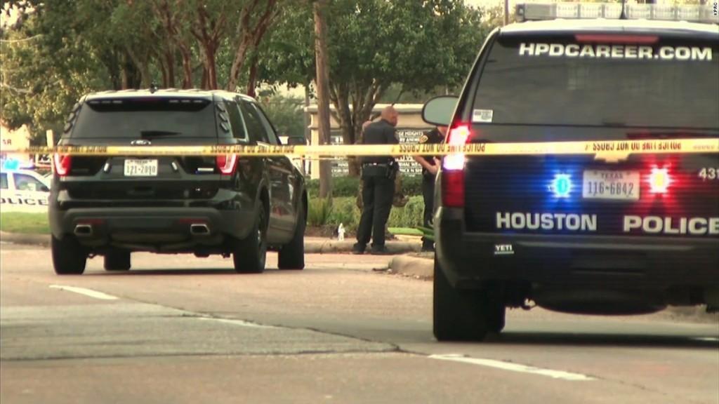 Houston shooting: Nine injured, suspect dead