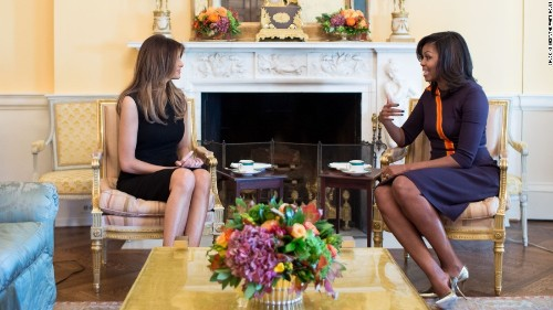 Michelle Obama: I went to bed before Trump won