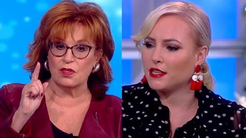 Meghan McCain lashes out at Joy Behar during debate on 'The View'