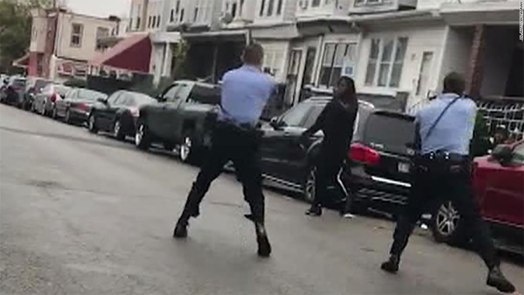 Protests erupt after Philadelphia police kill Black man who was waving knife on street