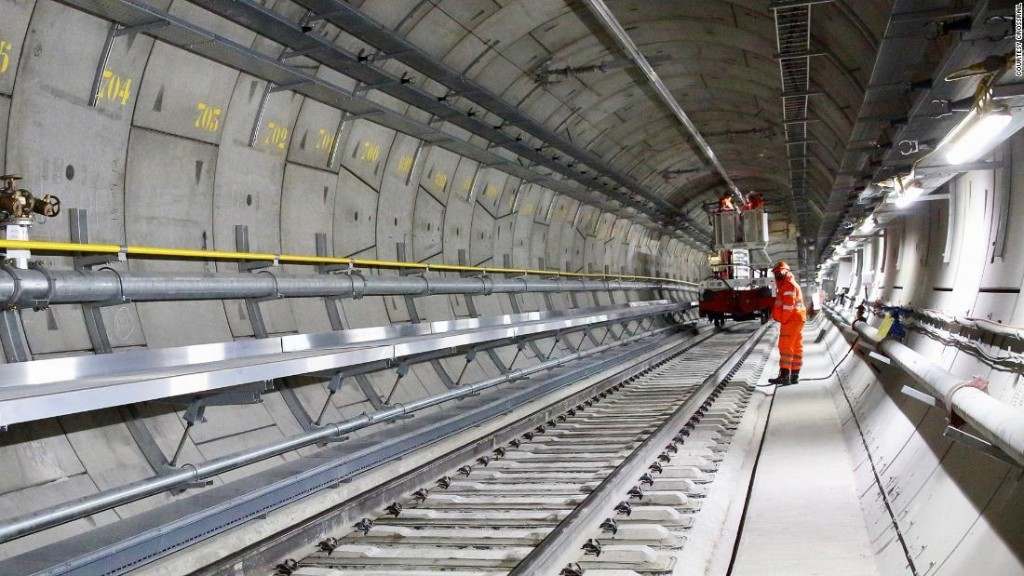 First look at epic new Crossrail tunnel ride under London