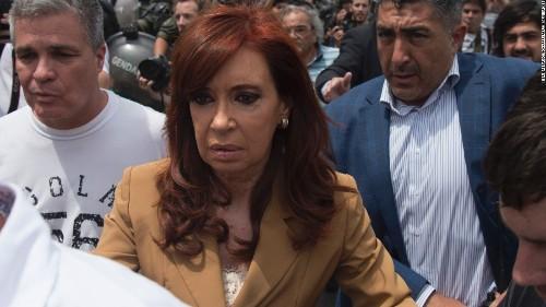 Argentina's ex-president Cristina Fernández de Kirchner charged