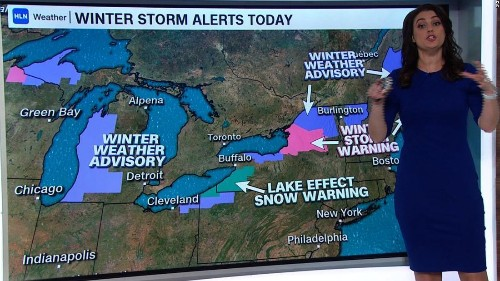 A winter storm that hammered the Northeast has moved out to sea but the frosty temps will stick around