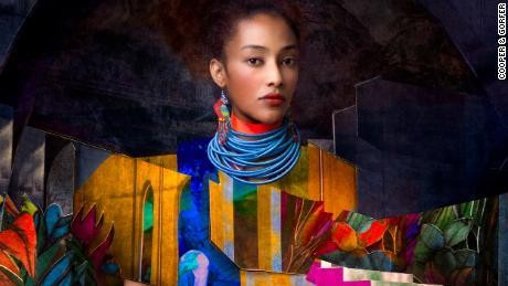 Surreal portraits imagine new future for young female migrants
