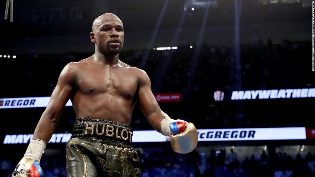 Floyd Mayweather Jr. says he's '100% sure' he will never box professionally again