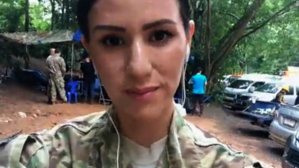 US Air Force officer on Thai cave rescue plan