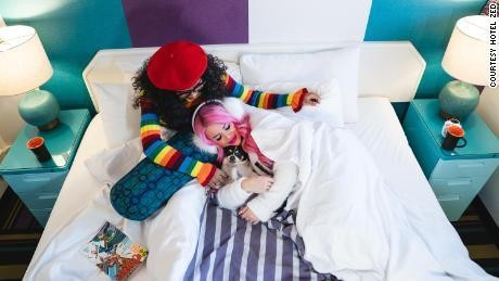 Hotel offers free stays for couples who make babies