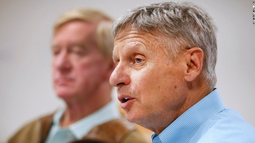 Gary Johnson's climate moonshot: 'We do have to inhabit other planets'