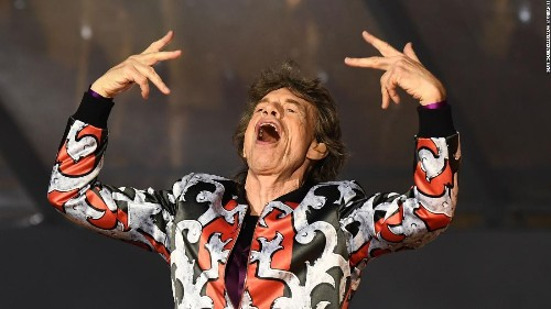 The Rolling Stones brought out a song they haven't performed in 50 years