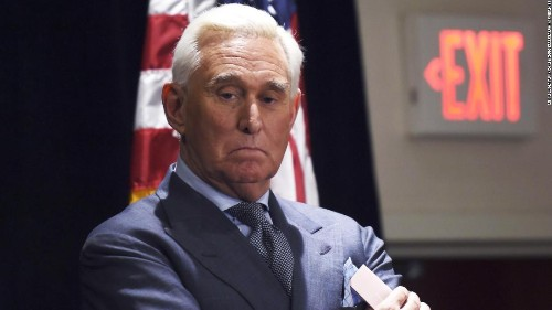 I look forward to being vindicated, Roger Stone says