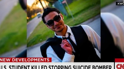 Kansas college student killed in mosque attack called a 'hero'