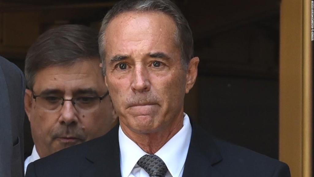 Former Rep. Chris Collins' prison term delayed due to coronavirus