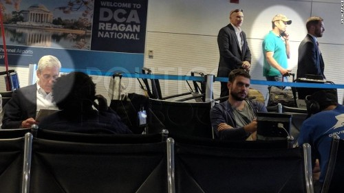 PHOTO: Robert Mueller and Donald Trump Jr. spotted at same airport gate
