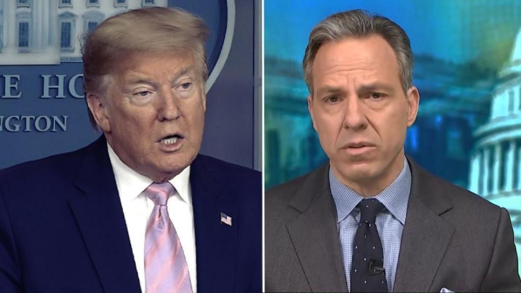 CNN's Jake Tapper: 'Mr. President, what's the plan?'