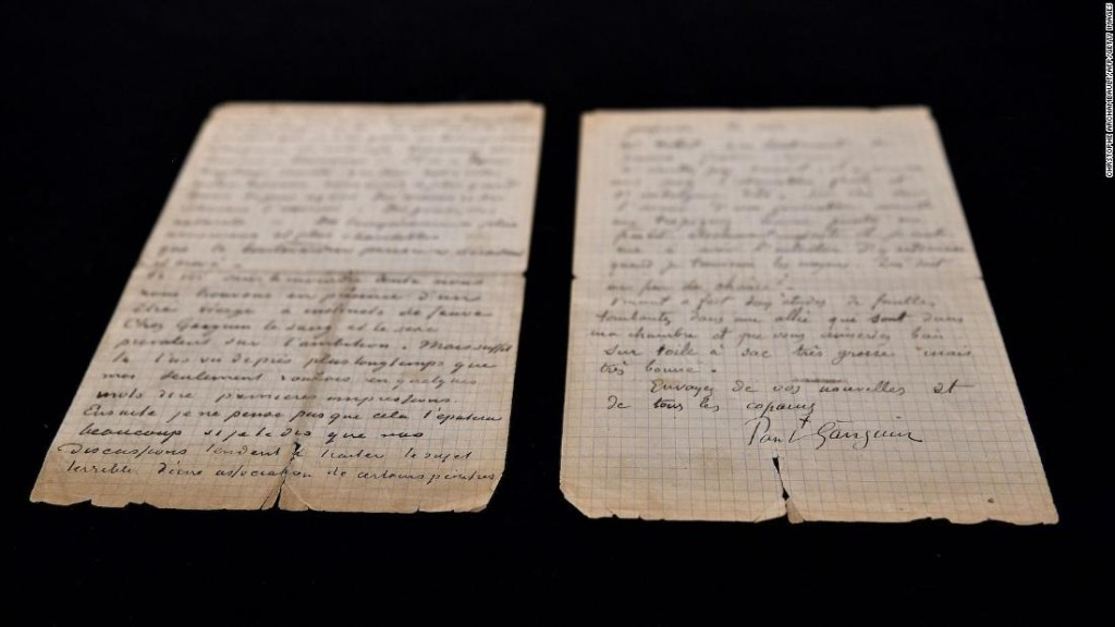 Rare letter detailing Van Gogh and Gauguin's brothel visits sells for $237K at auction