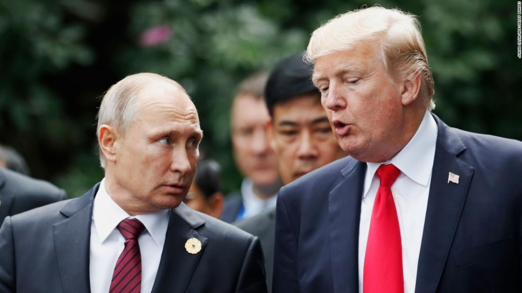 Trump says he likes Putin. US intelligence says Russia is attacking American democracy.