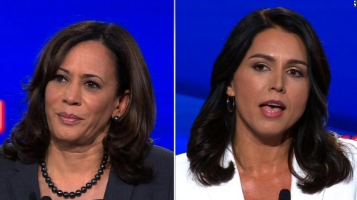 Kamala Harris: I can only take Tulsi Gabbard's opinion so seriously because she is an Assad 'apologist'