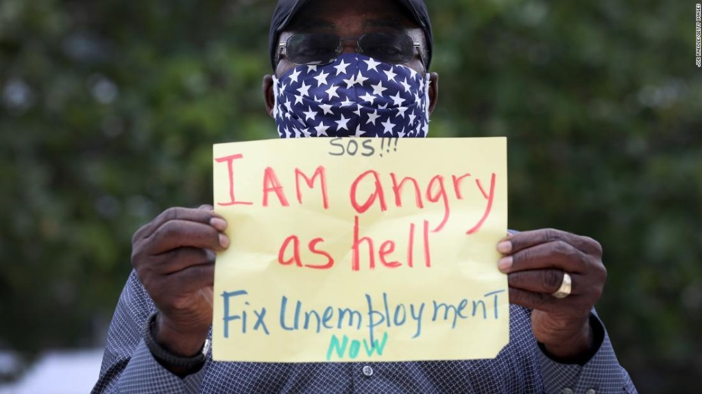 Thousands of people are volunteering to be laid off
