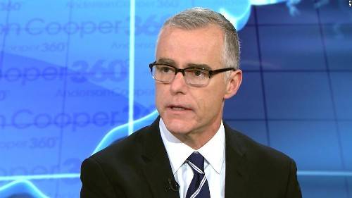 McCabe: 'I think it's possible' Trump is a Russian asset