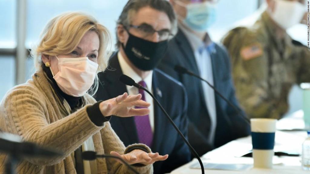 Dr. Birx slams the lack of mask usage in North Dakota, where Covid-19 is soaring