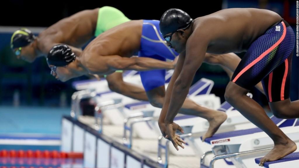 Social media dubs slow Ethiopian swimmer 'Robel the whale'