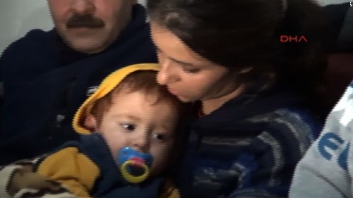 Turkish fishermen rescue baby: 'Brother, he is alive'