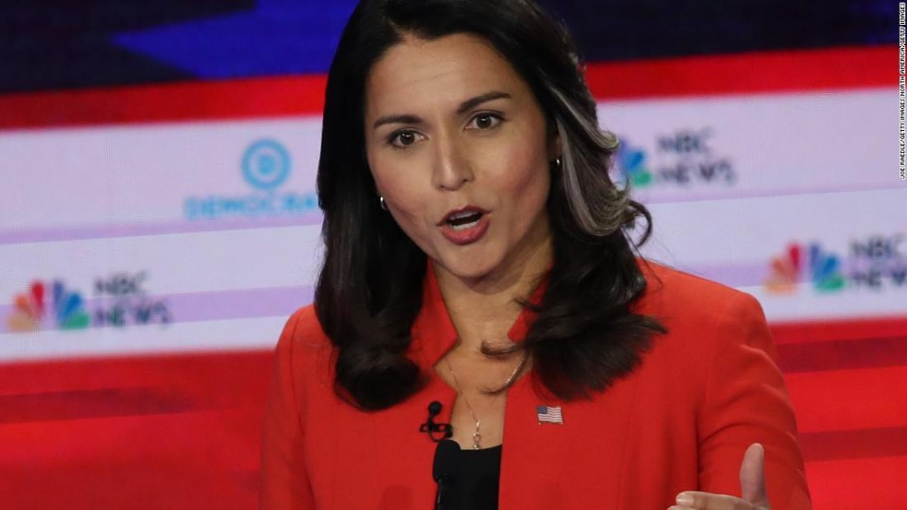 Tulsi Gabbard, the most searched candidate during debate, sues Google
