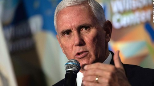 Pence's outrageous op-ed holds deeper meaning