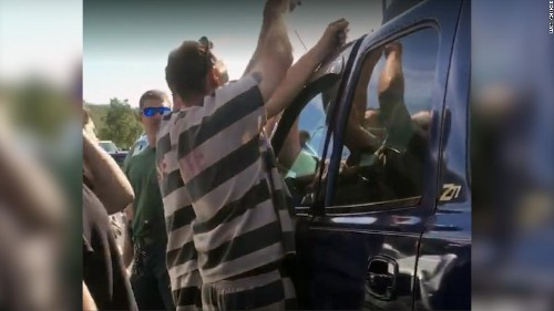 Florida inmates use their criminal skills to rescue a baby locked in an SUV