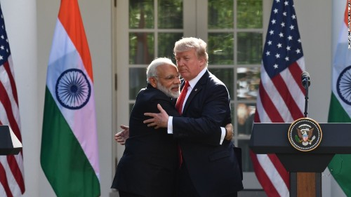 'I have never seen him eat a vegetable:' Trump braces for a beef-free menu in India