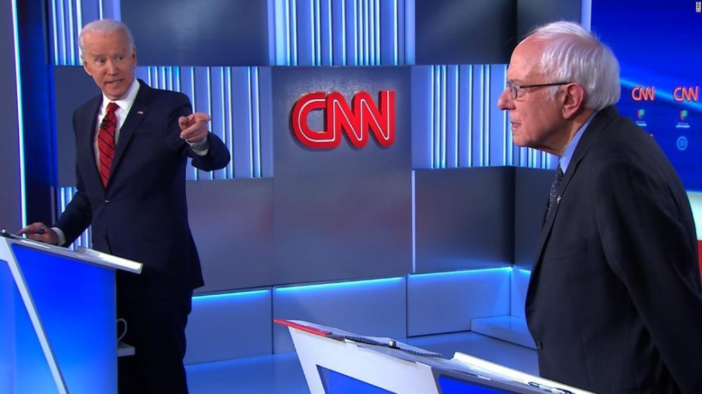 Biden, Sanders debate whether 'Medicare for All' would save lives