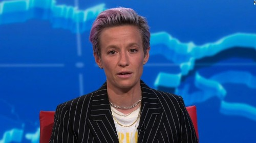 Megan Rapinoe to Trump: 'Your message is excluding people'