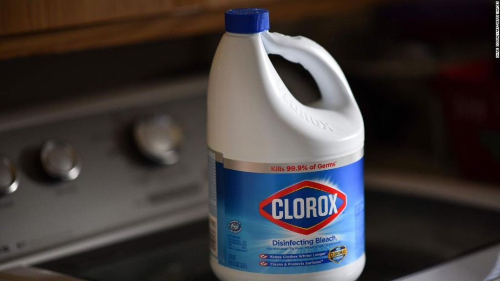 A third of Americans surveyed engaged in risky cleaning behaviors during the Covid-19 pandemic. Some have even gargled with bleach.